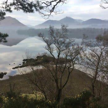 Keswick Lake District Derwentwater January