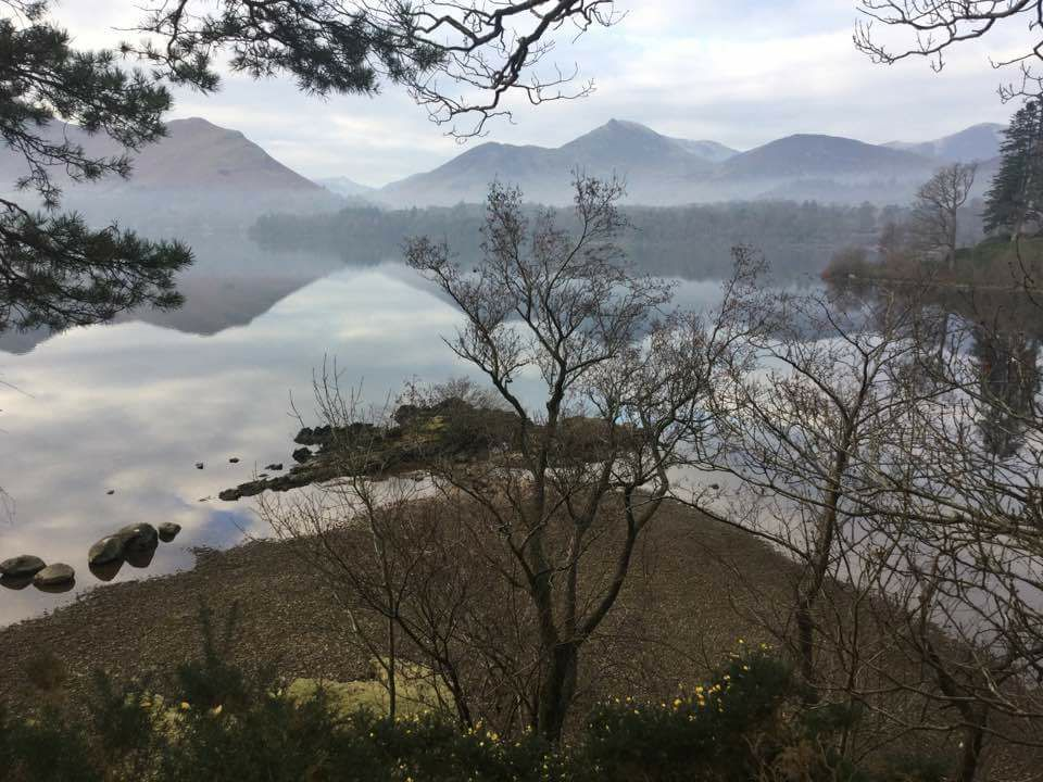 Keswick Lake District Derwentwater January