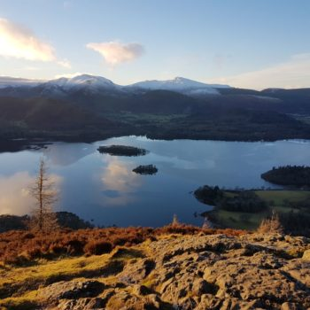 View from Walla Crag, Keswick, Derwentwater