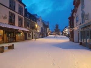 Snow in keswick