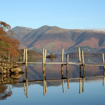 Keswick on Derwentwater Lake District