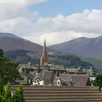 Grisedale view from lounge