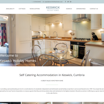 Keswick Holiday Homes accommodation
