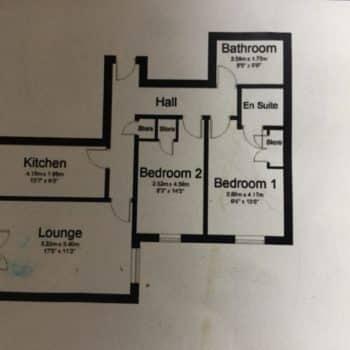 Latrigg View Floor Plan Keswick Cottage
