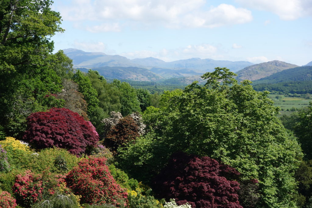 Spring View from Muncaster Castle Lake District