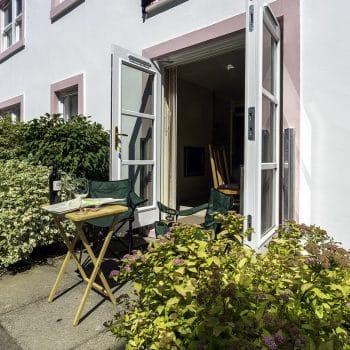 13 Greta Grove House patio Keswick