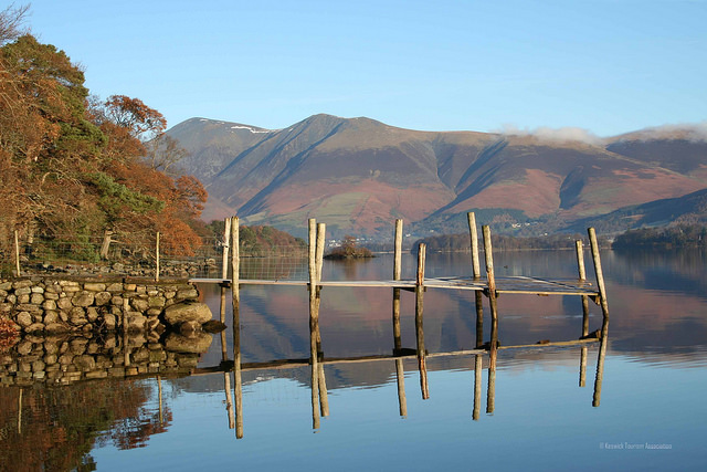 Keswick on Derwentwater Lake District