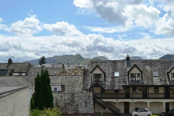 View from Catbells, Hewetson Court, Keswick