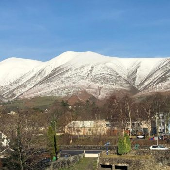 View of Skiddaw from 20 Greta Grove House