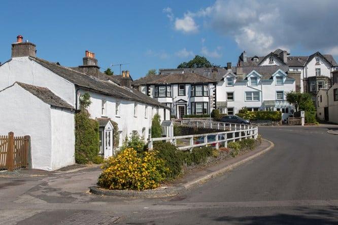 Portinscale Village, near keswick
