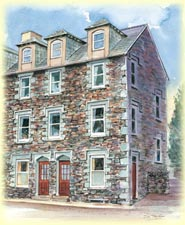 Brandelhowe and Derwent House Portinscale External