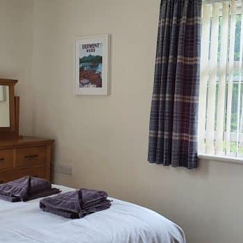 Derwent Cottage Keswick Double Bedroom